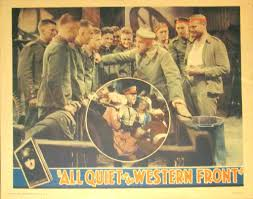 this hollywood titan foresaw the horrors of nazi arts all quiet on the western front lobby card