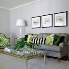 green and gray pillows. Perfect And Transitional Gray Living Room With Green Patterned Chair Throughout And Pillows