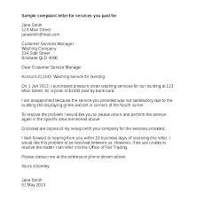 Complaints Letter Format Regards 4 Customer Complaint Email Template Complaint Letter
