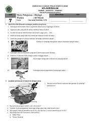 Soal pas ipa sekolah menengah pertama kelas 7 semester 1 kurikulum 2013. Contoh Soal Essay Dan Uraian Ipa Smp Mts Mid Semester Genap