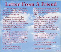 letter from a friend 476 p