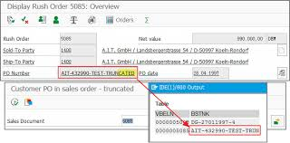 The Correct Way To Get Customer Po Number In Sales Order