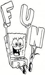Spongebob Spelletjes Filmpjes Kleurplaten