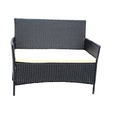 ids home compact 4 pc outdoorindoor rattan patio
