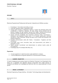 electrical engineer resume 43 eager world it