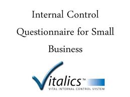 Small Business Questionnaire Internal Control Questionnaire For Small Business Authorstream