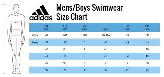 Adidas Swim Size Guide