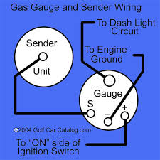 fuel sending unit wiring diagram fuel image wiring golf cart gas tank sender unit and gauge from the golf car catalog on fuel sending