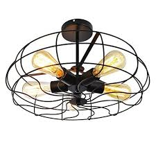 country style kitchen lighting. Modren Country Ceiling Light MKLOT Industrial Fan Style Wrought Iron Semi Flush Mount  2126 Throughout Country Kitchen Lighting S