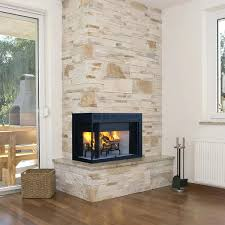 2 sided wood burning fireplace superior l wood burning corner fireplace 2 sided corner wood burning