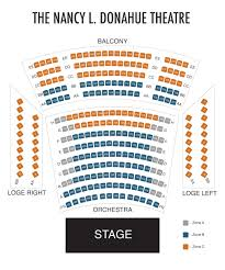 Seating Chart Merrimack Repertory Theatre