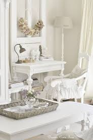 romantic decor home office. See How To Incorporate Vintage, Old Wood, Pastels, White, And Natural Elements Into A Relaxed Shabby Chic Style For Your Home Office. Lots Of Unique Ideas! Romantic Decor Office