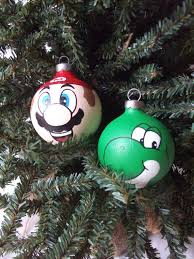 NINTENDO JUMPING MARIO CHRISTMAS TREE ORNAMENT VINTAGE SUPER MARIO Super Mario Christmas Tree