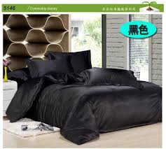 duvet cover pillowcases bed extraordinary black satin comforter queen 70 for layout design minimalist with black satin comforter queen
