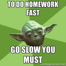 how to do homework fast image   WTF Professor