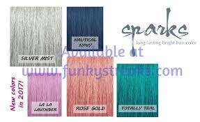 Spark Color Chart Sparks And Pravana Funky Streaks