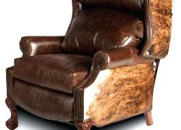 rustic recliner the best leather inspirational in distressed idea chairs rustic recliner chair brown bonded leather