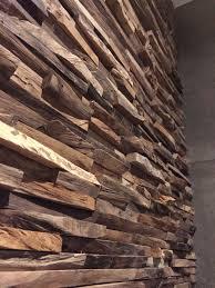 Wood Cladding Wandtegels Voor Een Prachtige Houten Wand Woonkamer