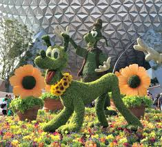 2018 epcot flower and garden festival topiary