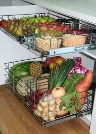 countertop vegetable storage fruit and ideas modern kitchen