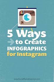 Poster Design Instagram 5 Ways To Create Infographics For Instagram Social Media