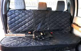 custom car seat covers plush paws custom seat cover with detachable hammock for trucks cars custom