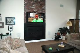 install tv on fireplace wall can you mount a brick wrng freplace