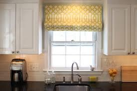 simple kitchen window treatment ideas