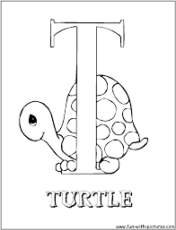 Letter T Turkey Coloring Pageowercase Animal Pages Printable For New