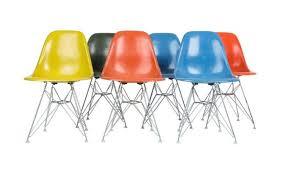 eames fiberglass chair. Modren Chair Eames Fiberglass Side Chairs Also Known As Shell Intended Chair
