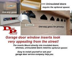 Garage Door Window Viewer Inserts - - Amazon.com