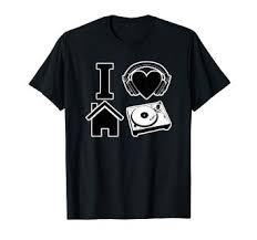 Love Haus Size Chart Amazon Com I Love House Music T Shirt Clothing