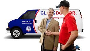 glass doctor van and happy auto glass franchise owner