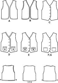 Child Vest Pattern
