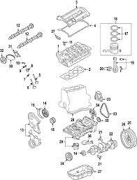 parts com® volkswagen spring partnumber 06f109623 2008 volkswagen passat turbo l4 2 0 liter gas cylinder head valves