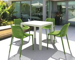 plastic patio chairs how to clean home depot stacking outdoor rubbermaid white plastic lawn
