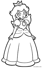 Small Picture Pictures Princess Peach Coloring Pages 44 In Line Drawings with