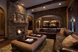 rustic leather living room furniture. Image Of: Leather Sofa Rustic Living Room Furniture I