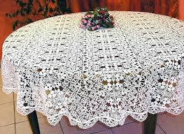 90 inch round plastic lace tablecloths table cloth small table cloth the round macrame lace tablecloth