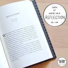 Week 27 Reflection The Bullet Journal Method Book Club Tiny Ray