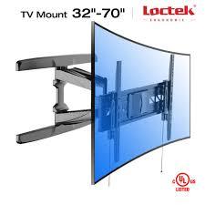 loctek r2l uhd hd hdtv curved lcd led tv wall mount bracket 32 42 50 55
