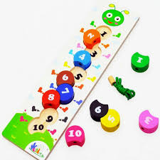 Wooden Bead Game Magnificent 32% Off ] Free Shipping Kids Caterpillar Digital Bead Game Wooden