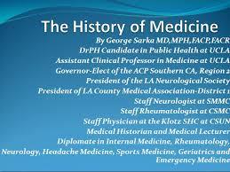 history of medicine essay