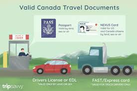 pport requirements for driving to canada