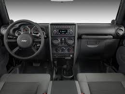 Image: 2008 Jeep Wrangler 4WD 4-door Unlimited Rubicon Dashboard ...