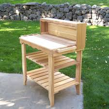 potting bench be equipped garden table planter be equipped outdoor potting bench be equipped garden table