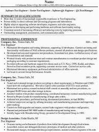 Mobile Application Testing Sample Resume Qtp Sample Resume For