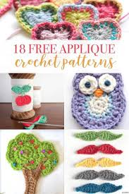 Free Crochet Applique Patterns New Decoration