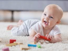 Baby Milestones One To Six Months Babycentre Uk