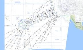 Mexico Ifr Charts Usa High Enroute Charts 1 500k Rocketroute